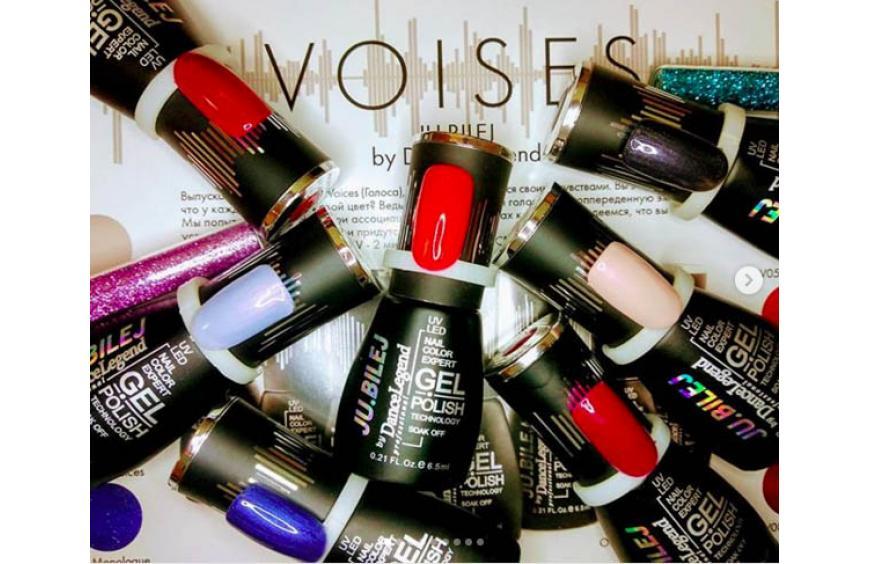 """Коллекция гель-лаков """"Voices"""" от Юлии Билей"""