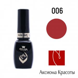 Гель-лак Gel Gel Luquid № 6, 8 мл 100 руб