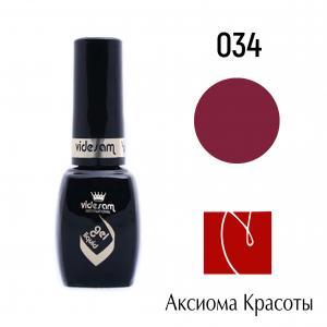 Гель-лак V Gel Liquid №034, Videsam, 8 мл, 100р.