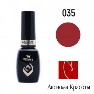Гель-лак V Gel Liquid №035, Videsam, 8 мл, 100р.