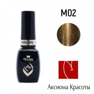 Гель-лак №M02, Videsam, 8 мл, 100р.