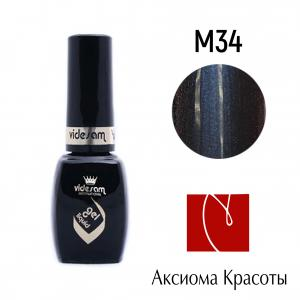 Гель-лак №M34, Videsam, 8 мл, 100р.