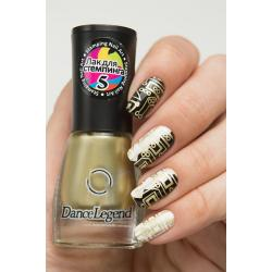 "Stamping №5 ""Gold"", Dance Legend"