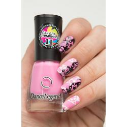 "Stamping №11 ""Pink"", Dance Legend"