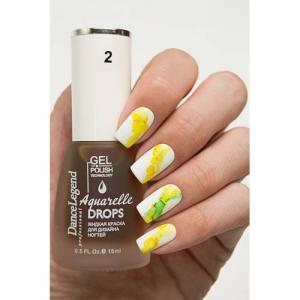 Aquarelle Drops №2,Yellow, 200р.