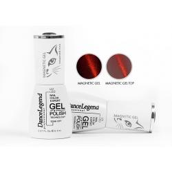 "Гель-лак Dance Legend №LE117 ""Magnetic Gel Red"", 6,5 мл"