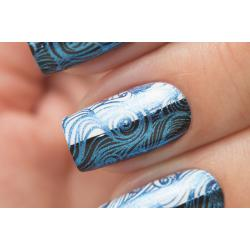 "Stamping №17 ""Metalic Blue"", Dance Legend"