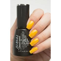 """Гель-лак Ju.Bilej №B5 """"Yellow"""", 15 мл"""