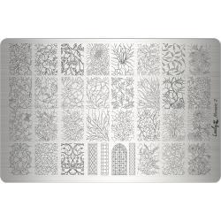 """Пластина для стемпинга """"Mosaic2"""", 9,5х14,5 см, Lesly"""