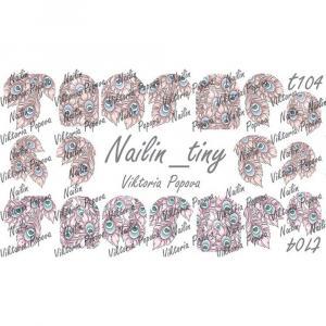 Безводный слайдер NAILIN MINI №T104, 120р.