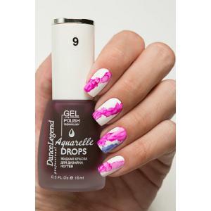 Aquarelle Drops №9,Pink, 200р.