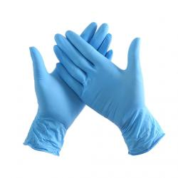 Перчатки нитриловые NITRILLE размер S, 100 шт (50 пар)