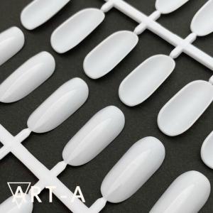 Палитра отрывная овал белая на 24шт 25 руб