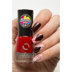 "Stamping №19 ""Raspberry Red"", Dance Legend"