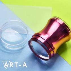 Штамп Розовый 3,9 см+скрапер