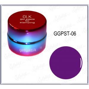 Гель-паста для стемпинга GELLAKTIK №06 Фиолетовая (GGPST-06), 350р.