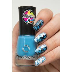 """Stamping №9 """"Blue"""", Dance Legend"""