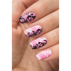 "Stamping №11 ""Pink"", Dance Legend"