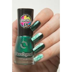 "Stamping №18 ""Metalic Green"", Dance Legend"