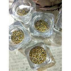 Клепки золотые, 2mm, 1000 шт.