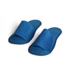Одноразовые тапочки синие, 1 пара